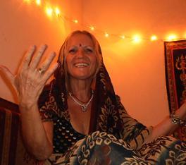 Samadhi nochmals mit Segen im Licht